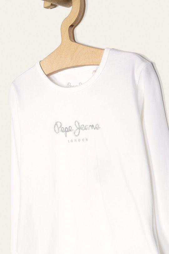 Pepe Jeans - Dětské tričko s dlouhým rukávem Hana Glitter 92-122 cm  93% Bavlna, 7% Elastan