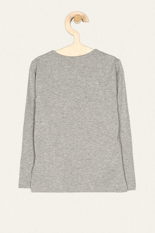 Pepe Jeans - Dětské tričko s dlouhým rukávem Hana Glitter 92-122 cm světle šedá