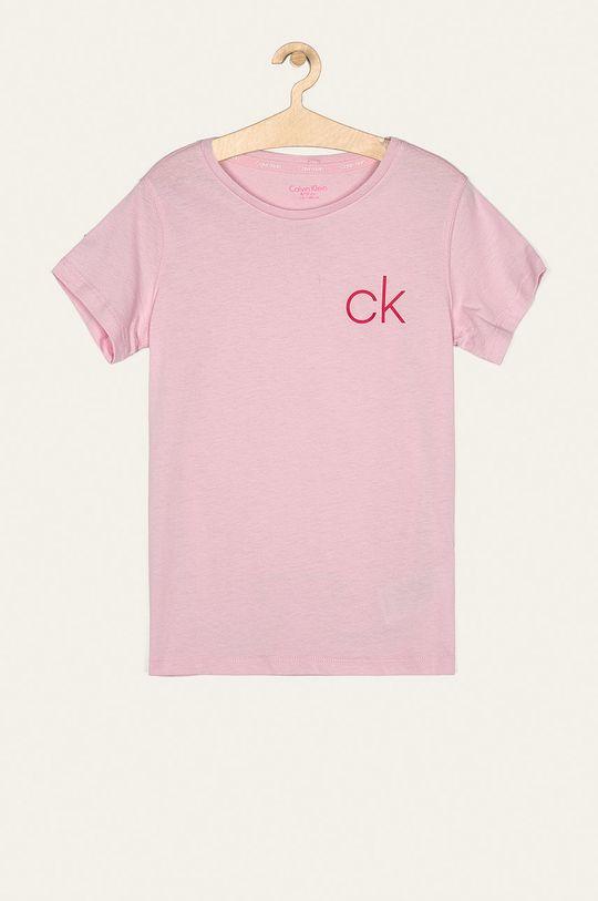 roz pastelat Calvin Klein Underwear - Tricou copii 128-176 cm (2-pack) De fete