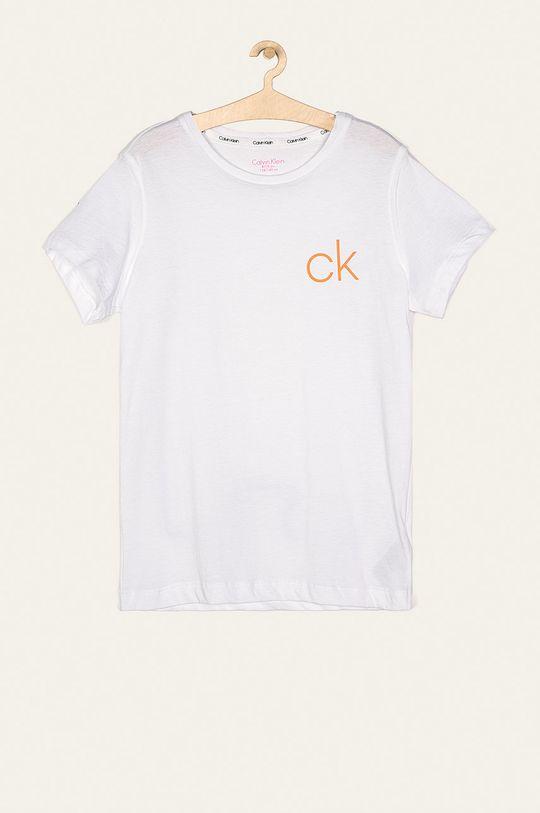 Calvin Klein Underwear - Tricou copii 128-176 cm (2-pack) roz pastelat