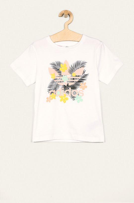 bílá adidas Originals - Dětské tričko 128-170 cm Dívčí