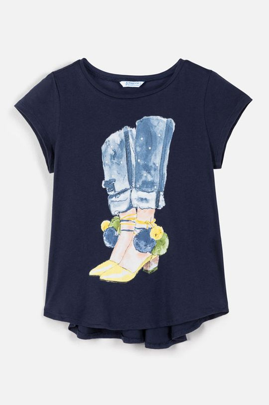 bleumarin Mayoral - Tricou copii 128-167 cm De fete
