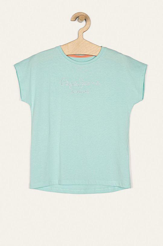 albastru pal Pepe Jeans - Tricou copii Nuria 128-178/180 cm De fete