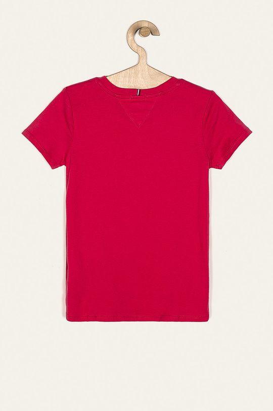 Tommy Hilfiger - T-shirt dziecięcy 98-176 cm orchidea