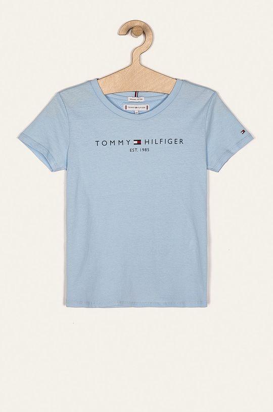 jasny niebieski Tommy Hilfiger - T-shirt dziecięcy 98-176 cm Dziewczęcy