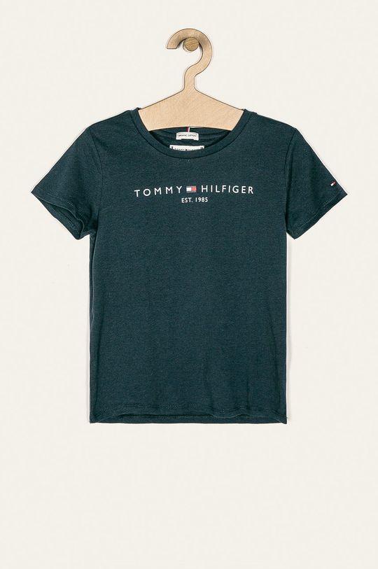 granatowy Tommy Hilfiger - T-shirt dziecięcy 98-176 cm Dziewczęcy