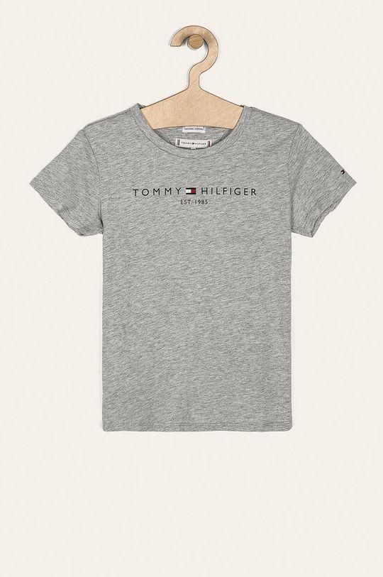 szary Tommy Hilfiger - T-shirt dziecięcy 98-176 cm Dziewczęcy