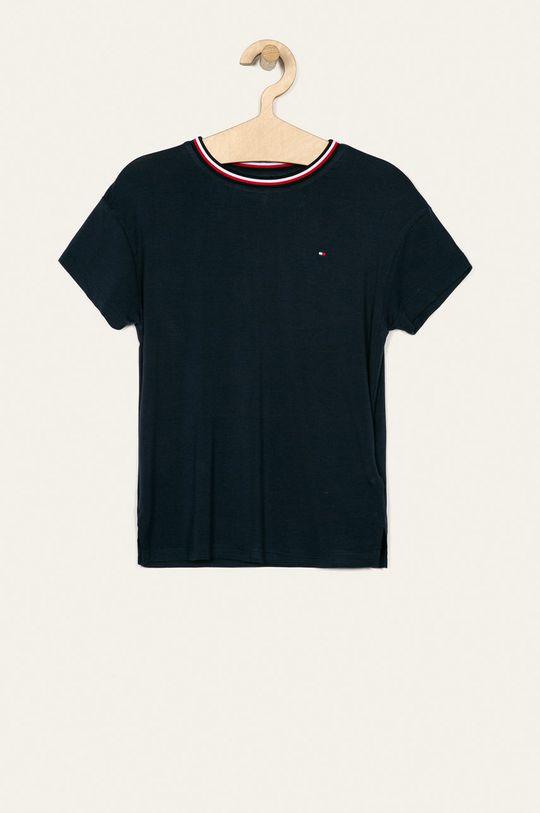 granatowy Tommy Hilfiger - T-shirt dziecięcy 128-176 cm Dziewczęcy