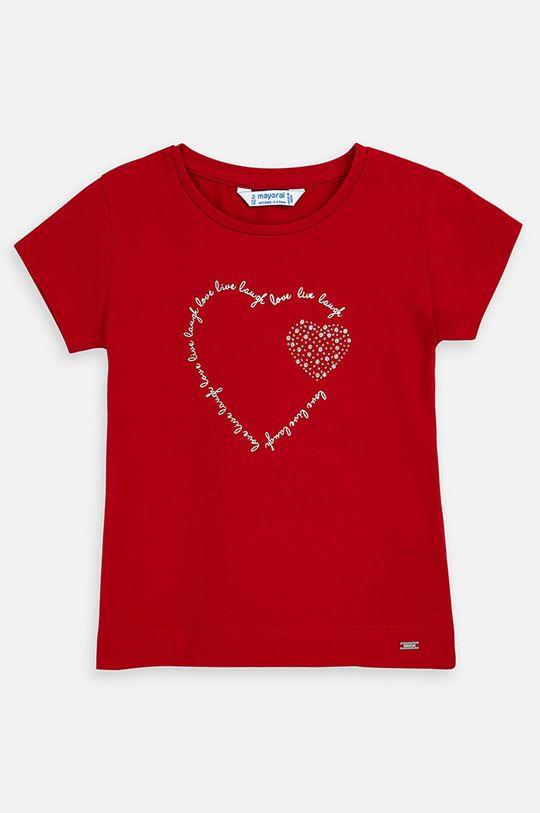 rosu Mayoral - Tricou copii 92-134 cm De fete