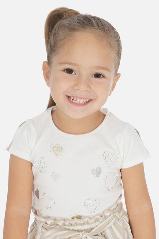 krémová Mayoral - Detské tričko 92-134 cm Dievčenský