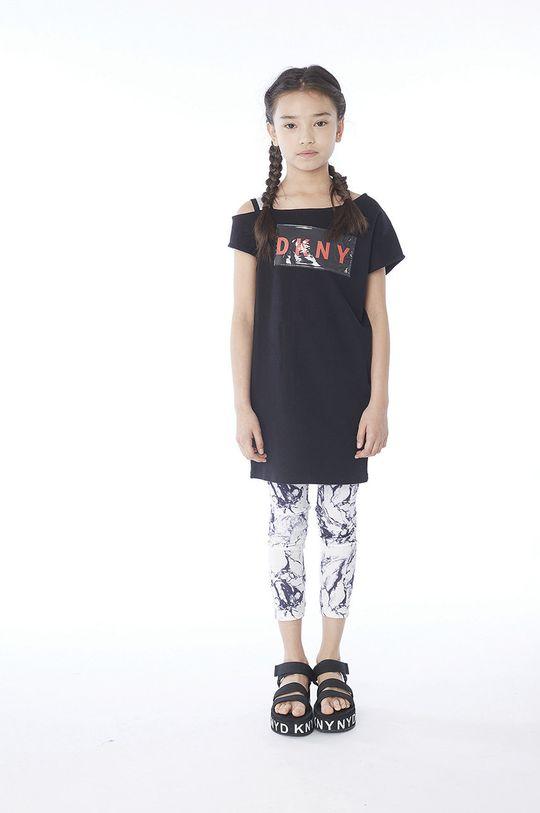 negru Dkny - Tricou copii 110-146 cm De fete