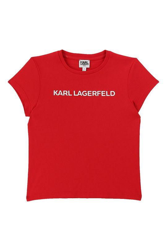 rosu Karl Lagerfeld - Tricou copii 114-150 cm De fete
