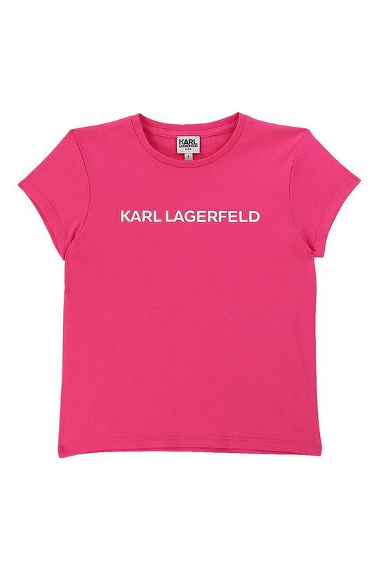 roz ascutit Karl Lagerfeld - Tricou copii 156-162 cm De fete