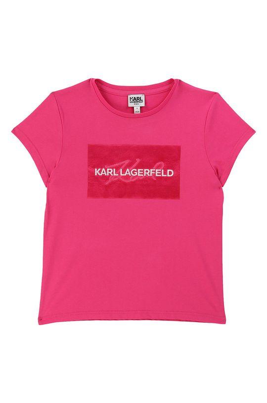 roz ascutit Karl Lagerfeld - Tricou copii 114-150 cm De fete