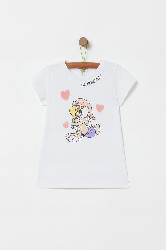 biela OVS - Detské tričko X Warner Bros 104-140 cm. Dievčenský