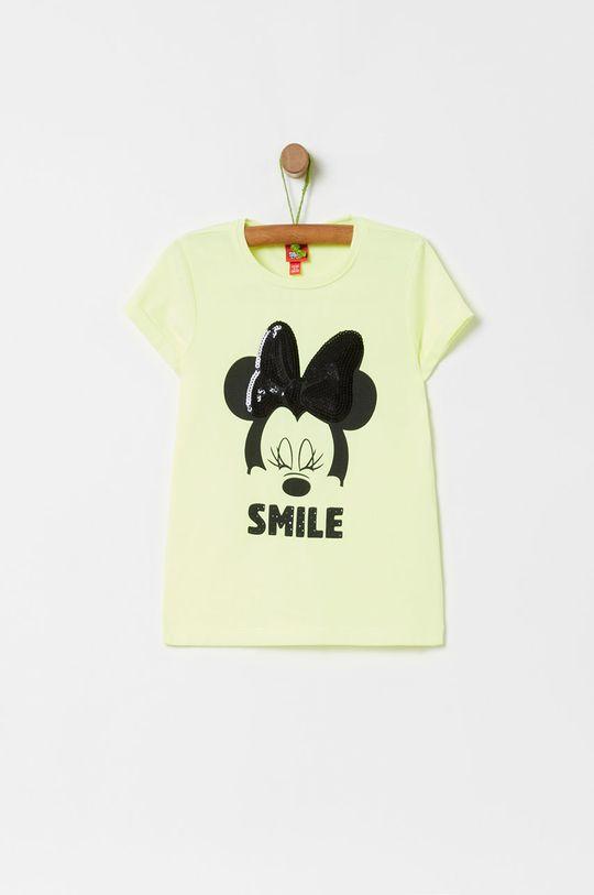 svetložltá OVS - Detské tričko X Disney 104-140 cm Dievčenský