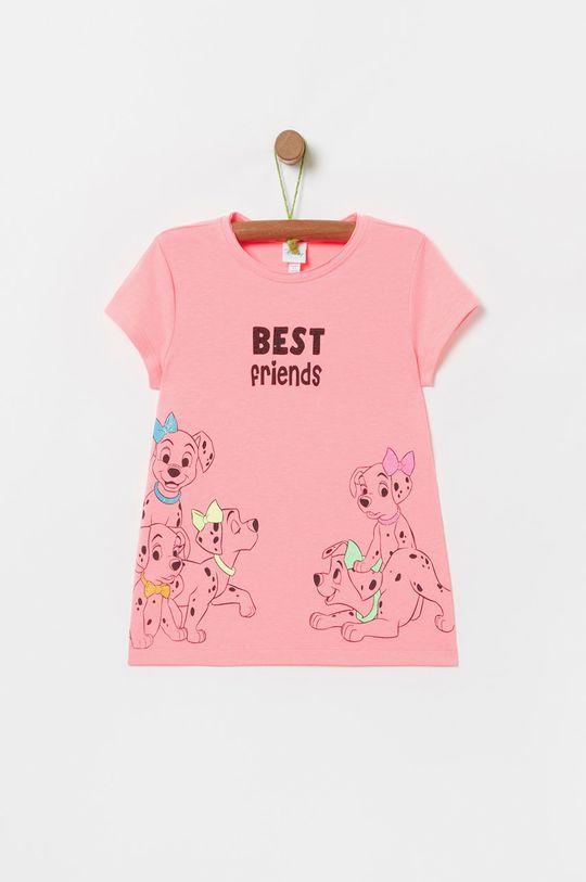 sýto ružová OVS - Detské tričko X Disney 104-140 cm Dievčenský