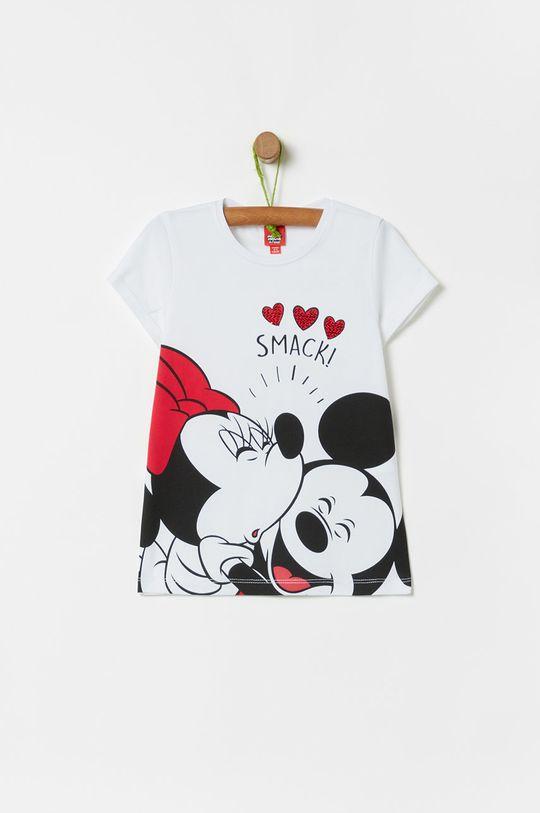biela OVS - Detské tričko x Disney 104-140 cm Dievčenský