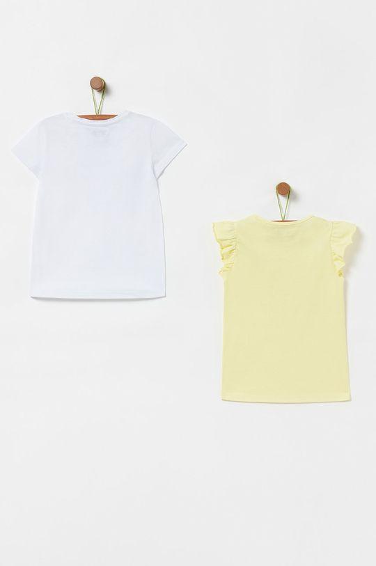 OVS - Detské tričko 104-140 cm (2-pak) žltá