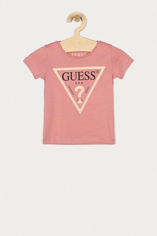 ružová Guess Jeans - Detské tričko 92-122 cm. Dievčenský