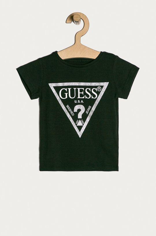negru Guess Jeans - Tricou copii 92-122 cm. De fete