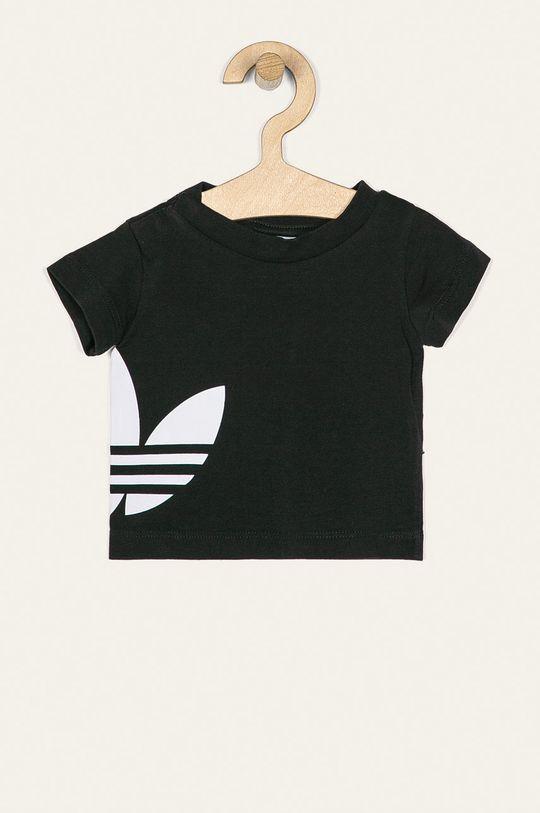 čierna adidas Originals - Detské tričko 62-104 cm Detský
