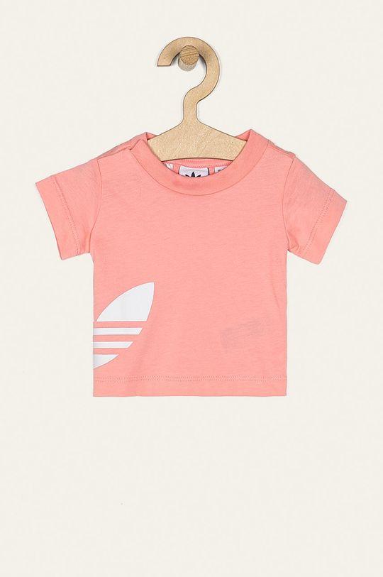ružová adidas Originals - Detské tričko 62-104 cm Detský