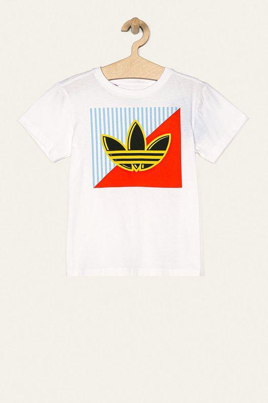 alb adidas Originals - Tricou copii 128-176 cm De copii