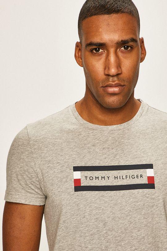 gri Tommy Hilfiger - Tricou De bărbați