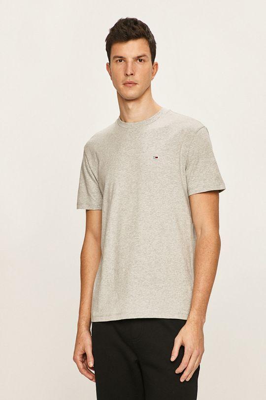 sivá Tommy Jeans - Pánske tričko Pánsky