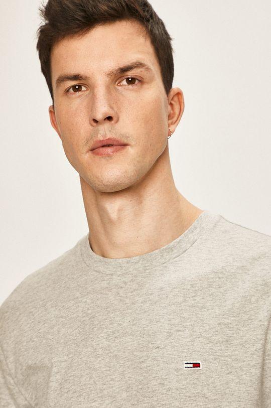 sivá Tommy Jeans - Pánske tričko