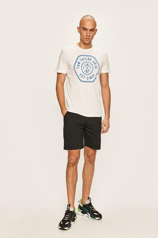 Tom Tailor Denim - T-shirt biały