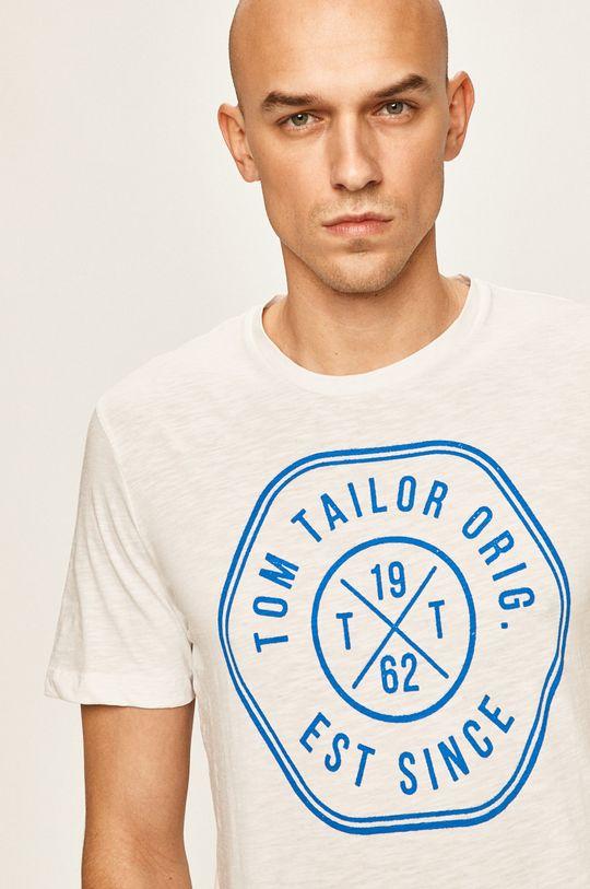 biały Tom Tailor Denim - T-shirt