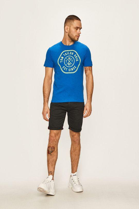 Tom Tailor Denim - T-shirt niebieski