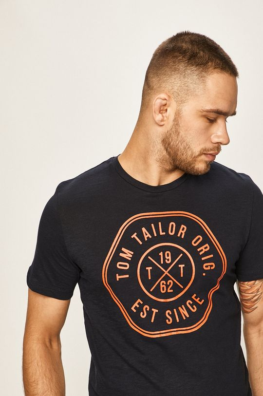 tmavomodrá Tom Tailor Denim - Pánske tričko