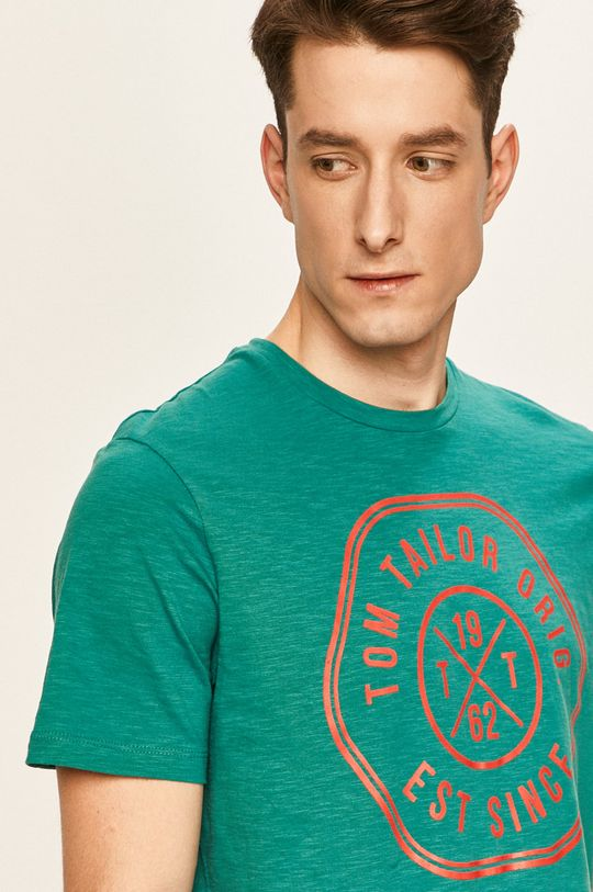 zelená Tom Tailor Denim - Tričko