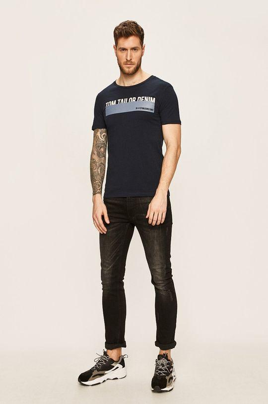 Tom Tailor Denim - T-shirt granatowy