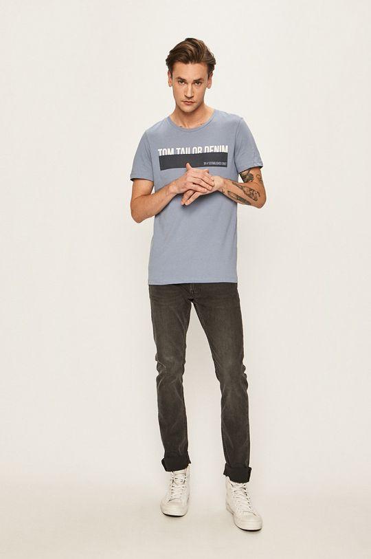 Tom Tailor Denim - Tričko ocelová modrá
