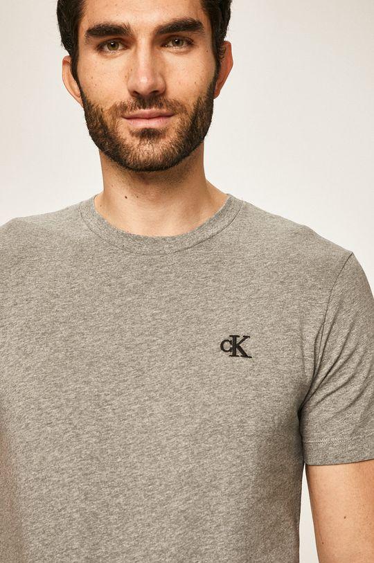 gri deschis Calvin Klein Jeans - Tricou