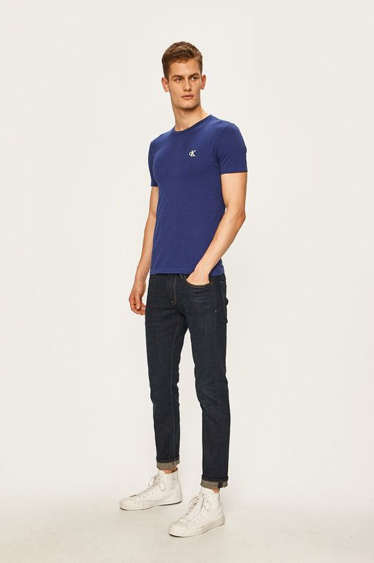 Calvin Klein Jeans - Tricou bleumarin