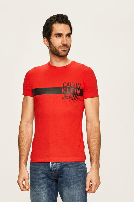 rosu Calvin Klein Jeans - Tricou