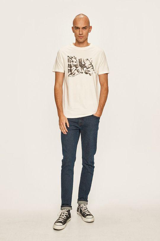 Pepe Jeans - Tričko bílá