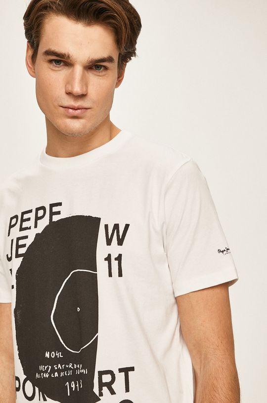 biela Pepe Jeans - Pánske tričko Doreen