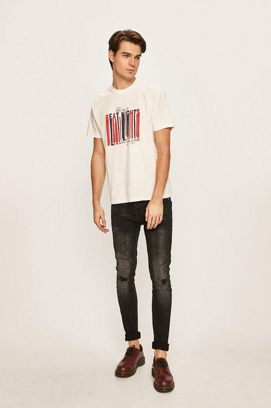 Pepe Jeans - T-shirt Bentley biały