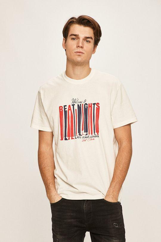 biały Pepe Jeans - T-shirt Bentley
