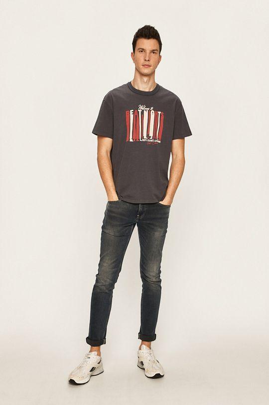 Pepe Jeans - Tričko Bentley šedá