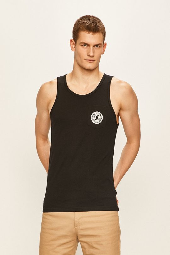 czarny Dc - T-shirt Męski
