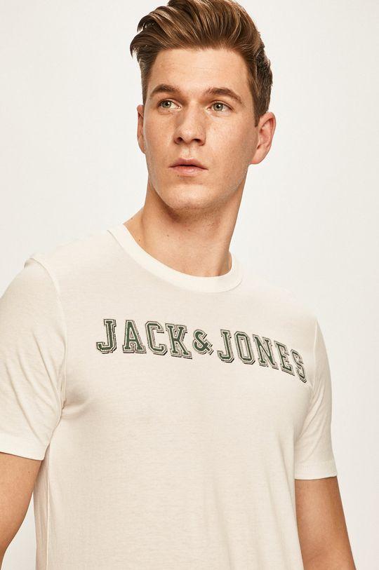 bílá Premium by Jack&Jones - Tričko Pánský