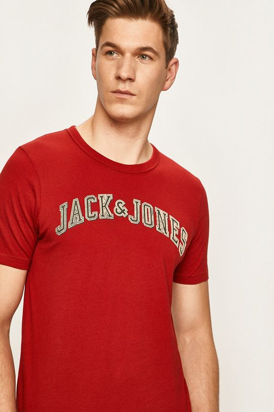 červená Premium by Jack&Jones - Tričko Pánský