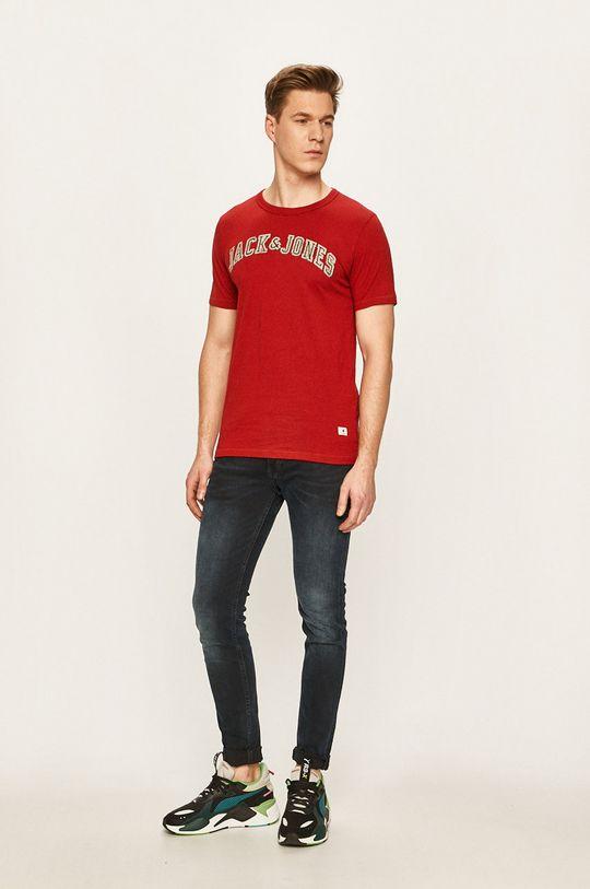 Premium by Jack&Jones - Tričko červená